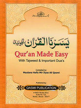 Load image into Gallery viewer, Quran Made Easy With Tajweed Yassarnal Qur'An