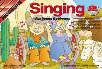 Cp69141 - Progressive Singing Method For Young Beginners - Book And Cd