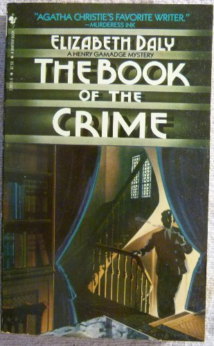 The Book Of The Crime (A Henry Gamadge Mystery)