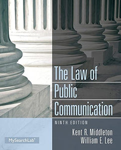 Law Of Public Communication (9Th Edition)