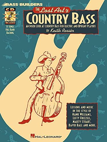 Lost Art Of Country Bass Book/Cd