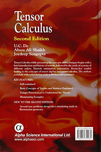 Tensor Calculus, Second Edition