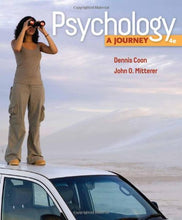 Load image into Gallery viewer, Psychology: A Journey (Available Titles Coursemate)