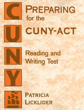 Load image into Gallery viewer, Preparing For The Cuny-Act Reading And Writing Test