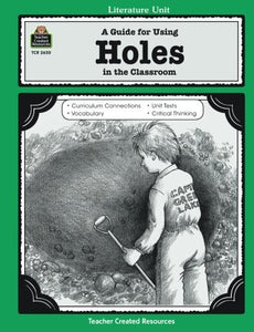 A Guide For Using 'Holes' In The Classroom (Literature Unit) (Literature Units)