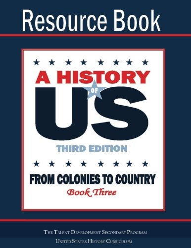 From Colonies To Country Resource Book