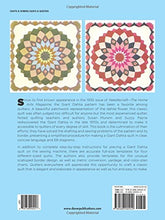 Load image into Gallery viewer, The Quick And Easy Giant Dahlia Quilt: Step-By-Step Instructions And Full-Size Templates For Four Quilt Sizes (Dover Needlework)