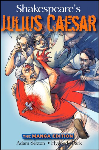 Shakespeare'S Julius Caesar: The Manga Edition (Wileys Manga Shakespeare)