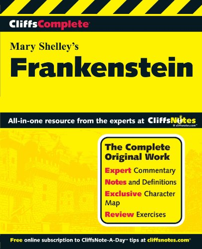 Cliffscomplete Frankenstein (Cliffs Complete Study Editions)