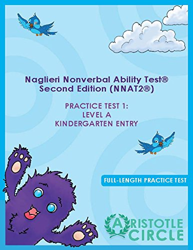 Naglieri Nonverbal Abilities Test (Nnat) Level A Practice Test