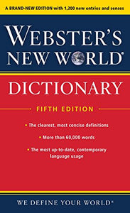 Websters New World Dictionary, Fifth Edition