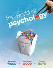 Load image into Gallery viewer, The World Of Psychology, 7Th Edition