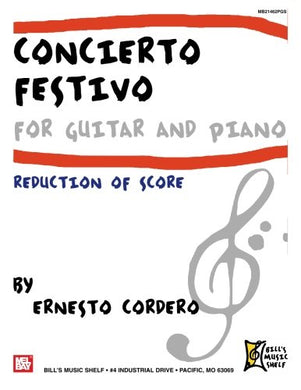 Concierto Festivo For Guitar And Piano: Reduction Of Score
