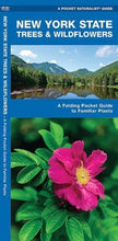 Load image into Gallery viewer, New York State Trees & Wildflowers: A Folding Pocket Guide To Familiar Species (A Pocket Naturalist Guide)