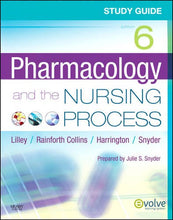 Load image into Gallery viewer, Study Guide For Pharmacology And The Nursing Process, 6E