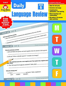 Daily Language Review, Grade 6