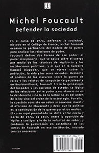 Defender La Sociedad (Spanish Edition)