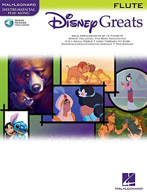 Disney Greats: For Flute Instrumental Play-Along Pack (Hal Leonard Instrumental Play-Along)