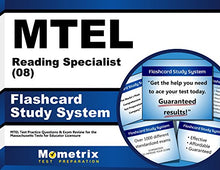 Load image into Gallery viewer, Mtel Reading Specialist (08) Flashcard Study System: Mtel Test Practice Questions & Exam Review For The Massachusetts Tests For Educator Licensure (Cards)