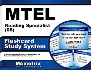 Mtel Reading Specialist (08) Flashcard Study System: Mtel Test Practice Questions & Exam Review For The Massachusetts Tests For Educator Licensure (Cards)
