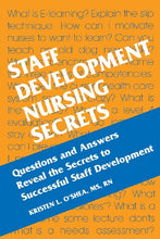 Load image into Gallery viewer, Staff Development Nursing Secrets, 1E
