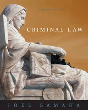 Load image into Gallery viewer, Criminal Law (With Cd-Rom And Infotrac)