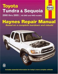 Toyota Tundra & Sequoia, 2000 Thru 2005 (Haynes Repair Manual)