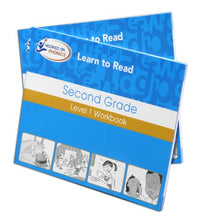Load image into Gallery viewer, Amazon Exclusive Hooked On Phonics Learn To Read 2Nd Grade Complete With Bonus T