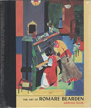 Load image into Gallery viewer, Art Of Romare Bearden Deluxe Address Book