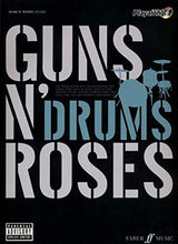 Load image into Gallery viewer, Guns N'Roses Authentic Playalong: 8 Classic Songs With Fabulous Soundalike Cd (Book & Cd)