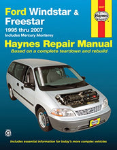 Load image into Gallery viewer, Ford Windstar & Freestar 1995-2007 Repair Manual (Haynes Repair Manual)