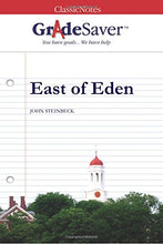 Load image into Gallery viewer, Gradesaver(Tm) Classicnotes East Of Eden