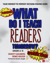 Load image into Gallery viewer, Bundle: Goldberg: What Do I Teach Readers Tomorrow? Fiction + Goldberg: What Do I Teach Readers Tomorrow? Nonfiction (Corwin Literacy)