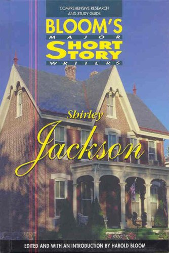 Shirley Jackson (Bloom'S Major Short Story Writers)