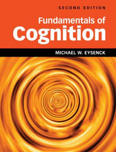 Load image into Gallery viewer, Fundamentals Of Cognition 2Nd Edition