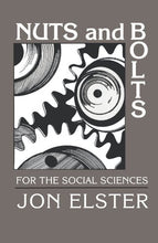 Load image into Gallery viewer, Nuts And Bolts For The Social Sciences