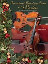 Load image into Gallery viewer, Traditional Christmas Duets For Violin With Cd * Revised Edition
