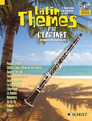 Latin Themes For Clarinet (Schott Master Play-Along)
