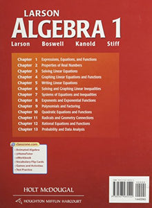 Mcdougal Littell High School Math Virginia: Student Edition Algebra 1 2012