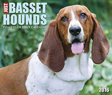 Load image into Gallery viewer, 2016 Just Basset Hounds  Box Calendar