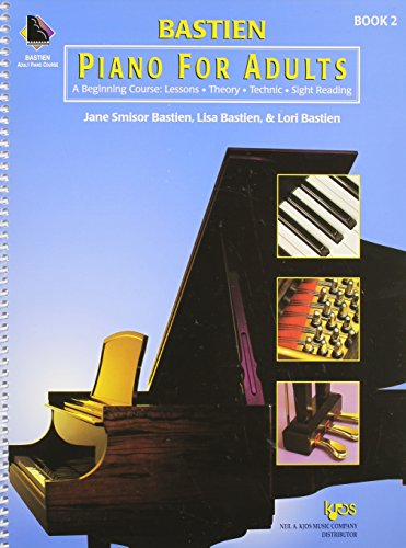 Kp2 - Bastien Piano For Adults Book 2 - Book & Cd