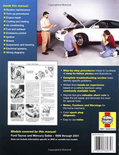 Load image into Gallery viewer, Ford Taurus & Mercury Sable 1996-2001 (Haynes Manuals)