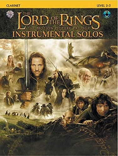 The Lord Of The Rings Instrumental Solos: Clarinet, Book & Cd