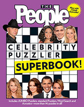Load image into Gallery viewer, The People Celebrity Puzzler Superbook
