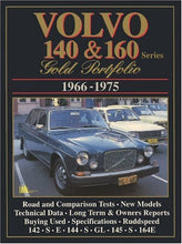 Load image into Gallery viewer, Volvo 140 & 160: Gold Portfolio 1966-1975