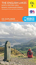 Load image into Gallery viewer, The English Lakes - North-Western Area, Keswick, Cockermouth & Wigton (Os Explorer Map)