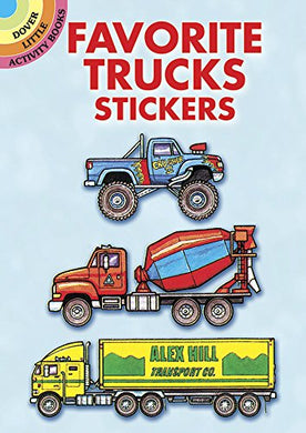 Favorite Trucks Stickers (Dover Little Activity Books Stickers)