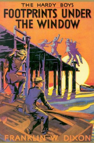Footprints Under The Window (Hardy Boys, Book 12)