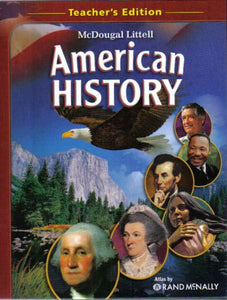 Mcdougal Littell American History, Teacher'S Edition