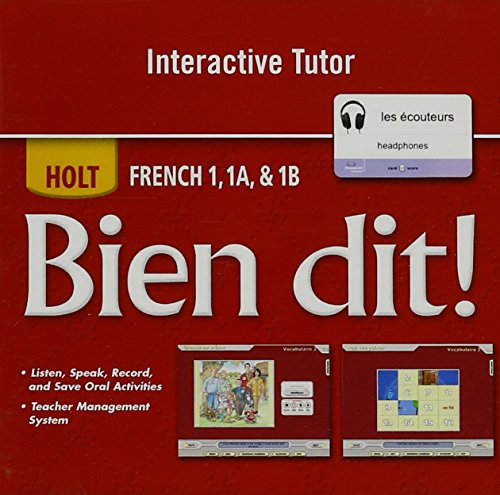Bien Dit!: Interactive Dvd Tutor Level 1A/1B/1